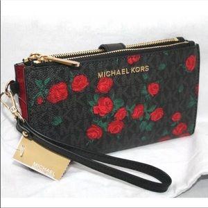 Michael kors jet set floral phone case wallet